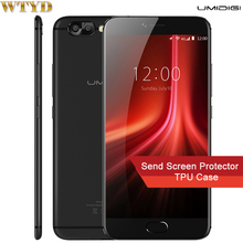 "Umidigi Z1 Pro 6 ГБ + 64 ГБ двойной задней камерами идентификации отпечатков пальцев 5.5 ""2.5D Arc Экран Android 7.0 MTK6757 Octa Core 2.3 ГГц"