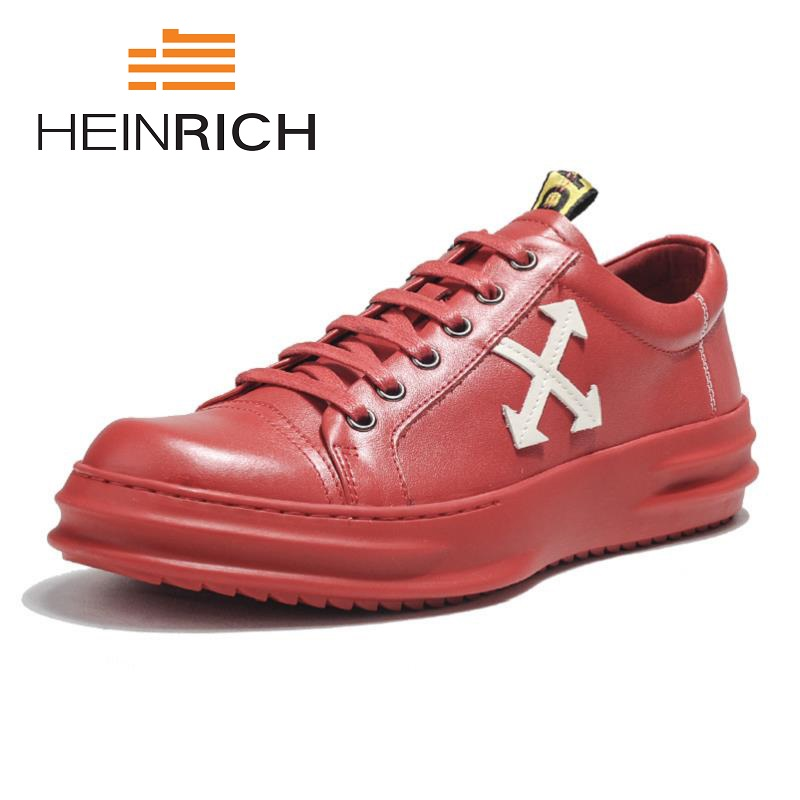 HEINRICH New Spring/Summer Men Shoes Casual Shoes Men Canvas Shoes Breathable Low Laces Flats Shoes Chaussure Homme De Marque 2017new men casual shoes elastic breathable massage flats shoes spring summer men s flats men sapatos chaussure homme masculinos