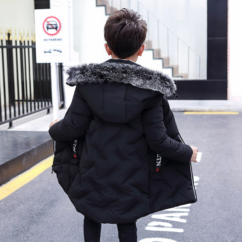 102c27d550b4 New 2018 Fashion Children Winter Jacket Boys Down Coat Kids Thick ...
