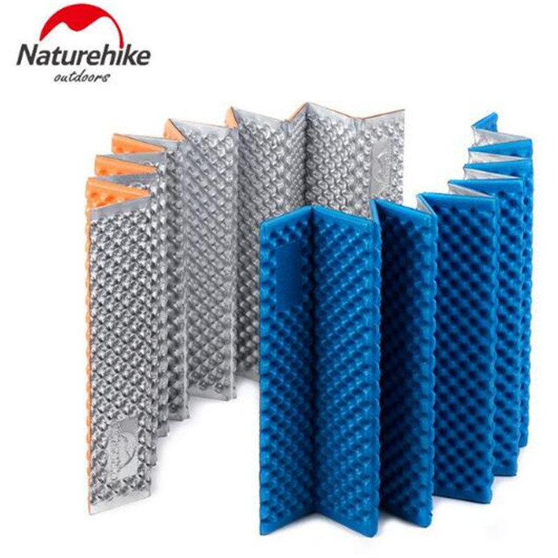 NatureHike Camping Cushion Super Light Outdoor Moisture Proof Egg Slot IXPE Picnic Blanket Camping Mat Pad in Camping Mat from Sports Entertainment