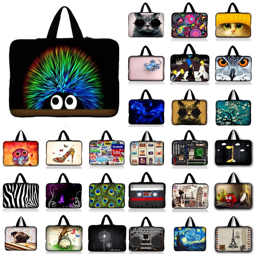 10.1 12 13.3 14 15.6 15.4 17.3 Inch Colorful design notebook laptop tablet bag For Samsung Macbook Asus Acer HP Lenovo