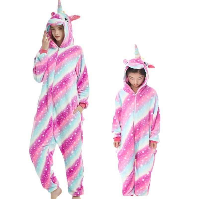 Adult Kid Baby Cosplay Costume Pajamas Sleepwear Outfit