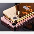 Роскошные Металл + Зеркало Акриловые Случае Для HTC Desire 626 626 W 626D 626 Г Мобильный Телефон Защитная Крышка