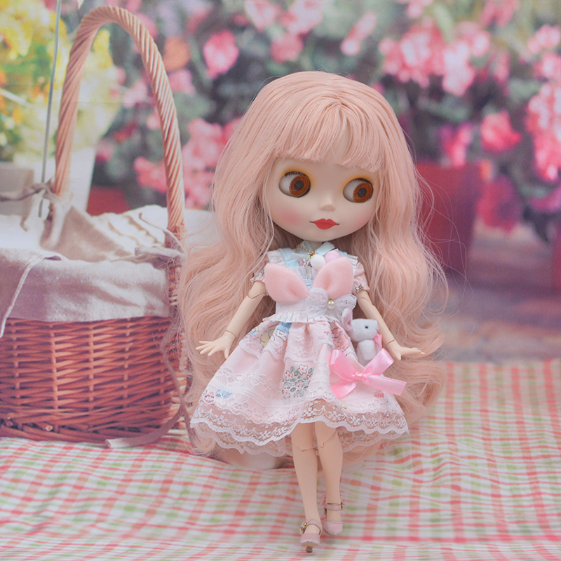 Factory Neo Blyth Doll Customized Matte Face,1/6 BJD Ball Jointed Doll Blyth Dolls for Girl,Reborn Baby Born Toys for Children 5