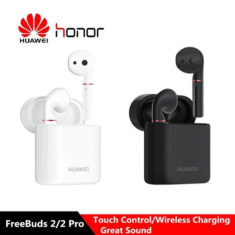 HUAWEI FreeBuds 2 Freebuds 2 Pro TWS Wireless Bluetooth Earphones Touch Control IP54 Waterproof Earbuds with Mic Charging Dock