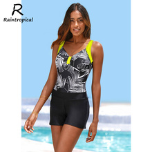 5fced3adc3d93 Raintropical 2019 One Piece Swimsuit Pants Halter Top Monokini Swimwear Sex  Backless Women Swimsuit High Waist