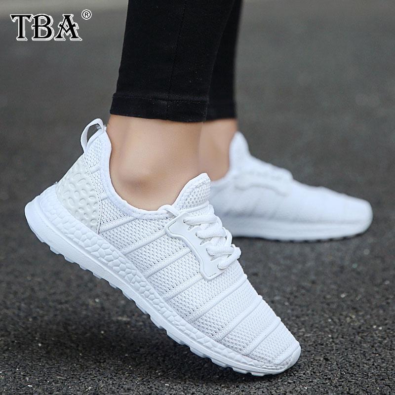 TBA 2017 Большие размеры 36–47 Для женщин и Для мужчин Кроссовки сетки дышащая уличная спортивная обувь зимние Спортивная обувь