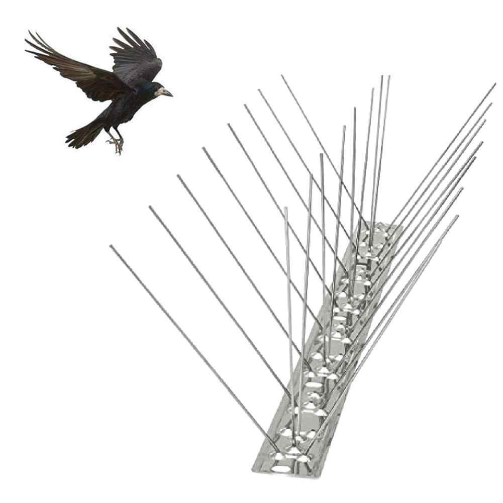 25cm Stainless Steel Bird Repellent Spikes Eco friendly Anti