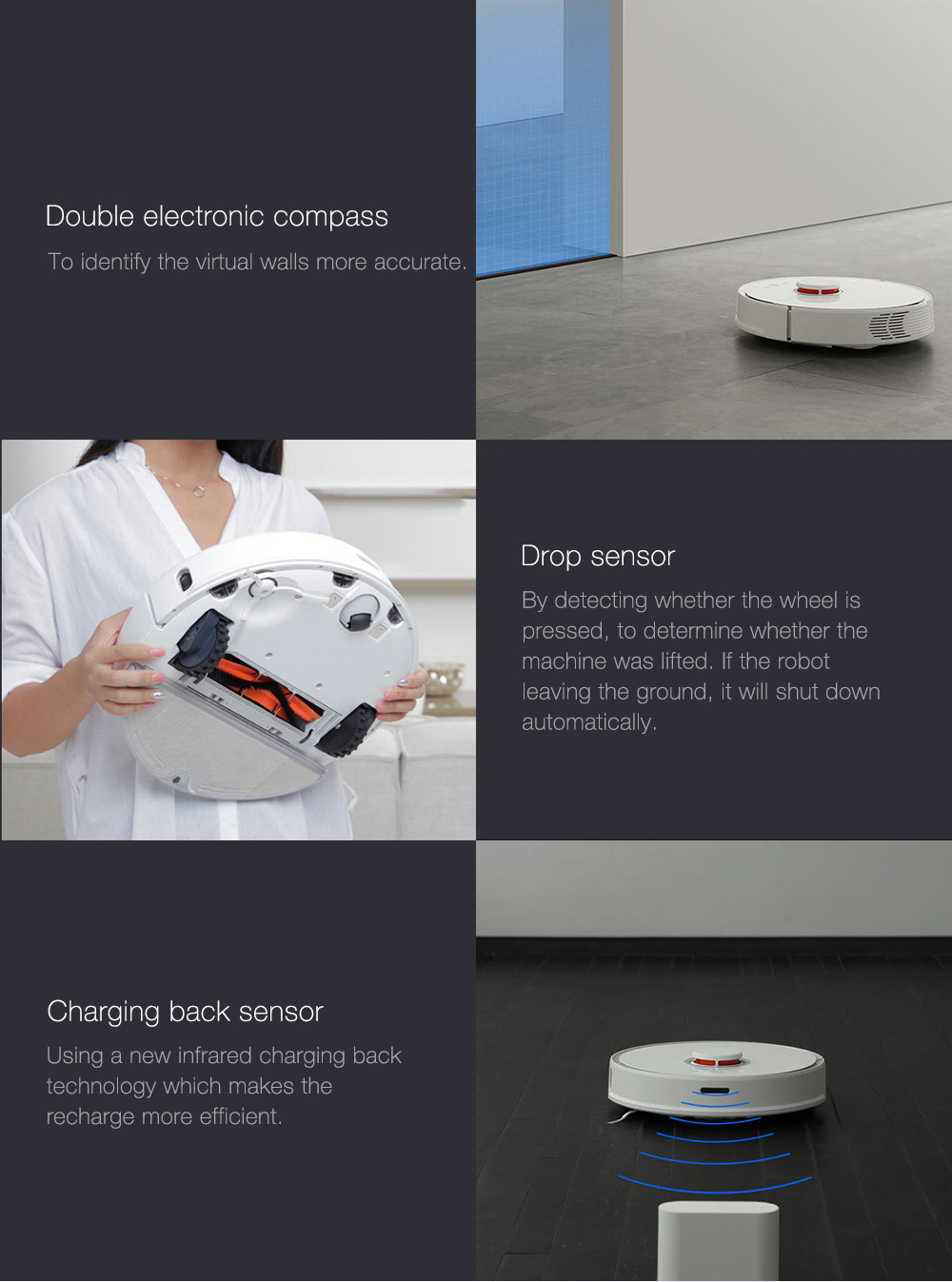 INTERNATIONAL VERSION XIAOMI MIJIA ROBOROCK VACUUM CLEANER 2 AUTOMATIC AREA CLEANING 2000PA SUCTION 2 IN 1 SWEEPING MOPPING FUNCTION 256393 21