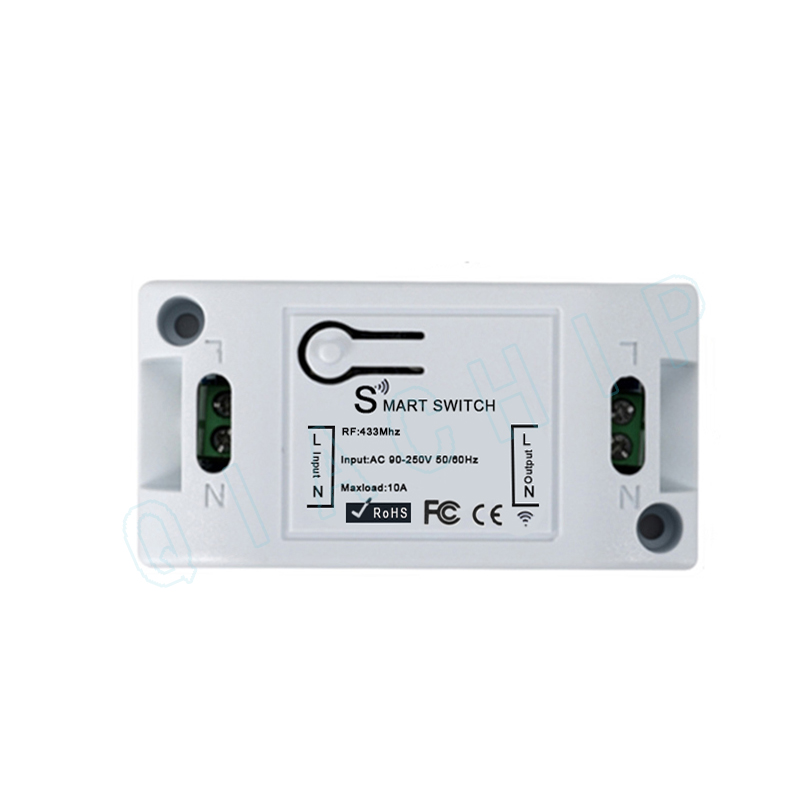 433Mhz Wireless Remote Control Switch AC 110V 220V RF Receiver Lamp Light LED Switches Corridor Room Wall Switch in Remote Controls from Consumer Electronics
