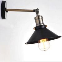 Nordic America Iron Pipe Wall Lights With Edison Bulb Industrial Loft Wall Light Bar Coffee Vintage
