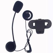 Microphone Earphone & Clip Accessories ONLY Suit for T-COMVB TCOM-SC Bluetooth Motorcycel Helmet Intercom Headset BT Interphone