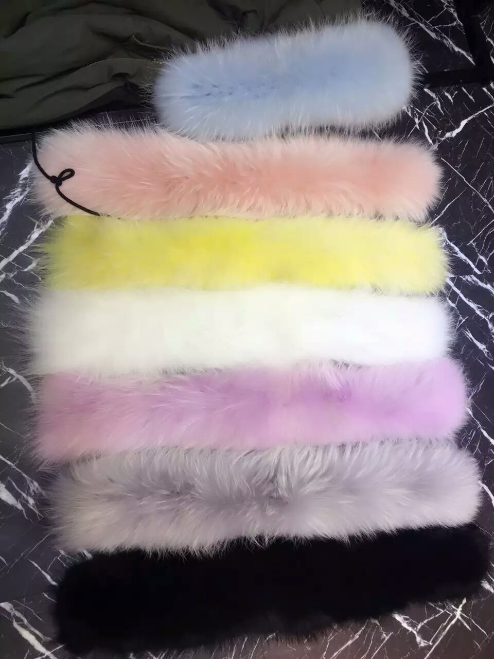 only hood fur 1 pc for Women Clothing Down Coat Fox Fur Hooded Parkas Medium Long Warm Jackets Duck Down Parkas Thick Coats