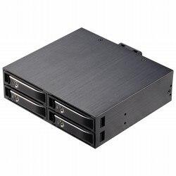 Uneatop ST2541 4-Bay 2.5 Aluminium Case SATA HDD Interne Behuizing met LED