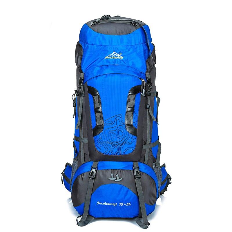 80L grand sac à dos imperméable à l'eau en plein air sacs de voyage Camping randonnée escalade sacs à dos sac à dos étanche sac de Sport