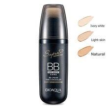 BIOAQUA Colchón de Aire Crema BB Blanqueamiento Fundación Hidratante Maquillaje Desnudo Corrector Cara de Maquillaje de Belleza Cosméticos de Corea