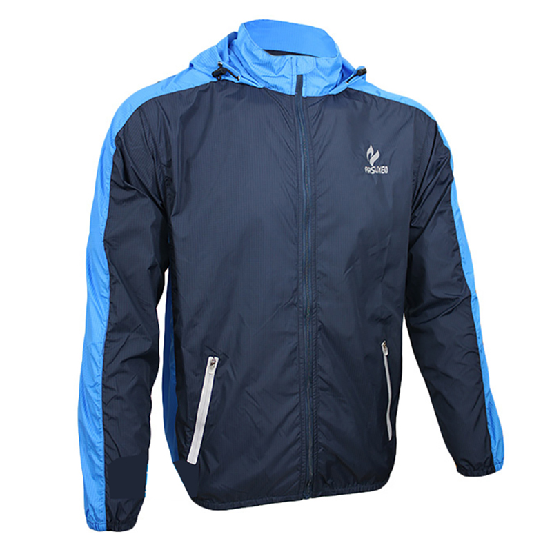 Men Cycling Jackets Windproof Breathable Cycling Jersey Long Sleeve Outdoor Sports Clothing 2 Colors