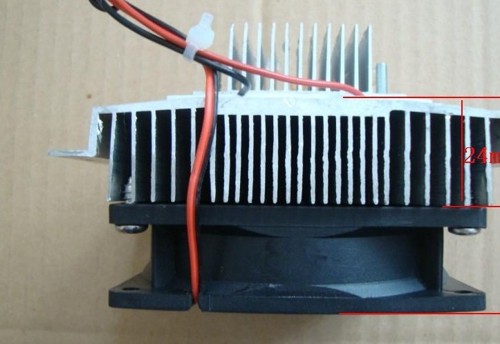 Freeshipping Thermoelectric Peltier Refrigeration Cooling System Kit Cooler fan & TEC1-12706 freeshipping tec2 25408 70w 30 degree double deck thermoelectric cooler cooling peltier