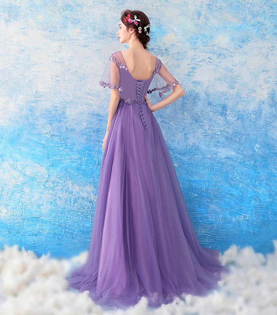 e152c9a21801d Detail Feedback Questions about Romantic Purple Pregnant Woman ...