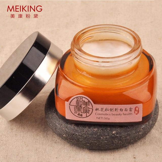 Flor de durazno meiking cremas para blanquear la piel hidratante 50g crema para blanquear la piel marca embalaje original envío rápido
