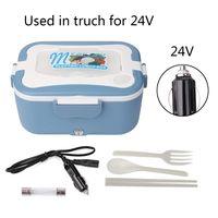 Neue 1 5 L 24V Auto/Lkw/Haus Elektrische Heizung Lunch Box Lebensmittel Wärmer 45W-in Reiskocher aus Haushaltsgeräte bei