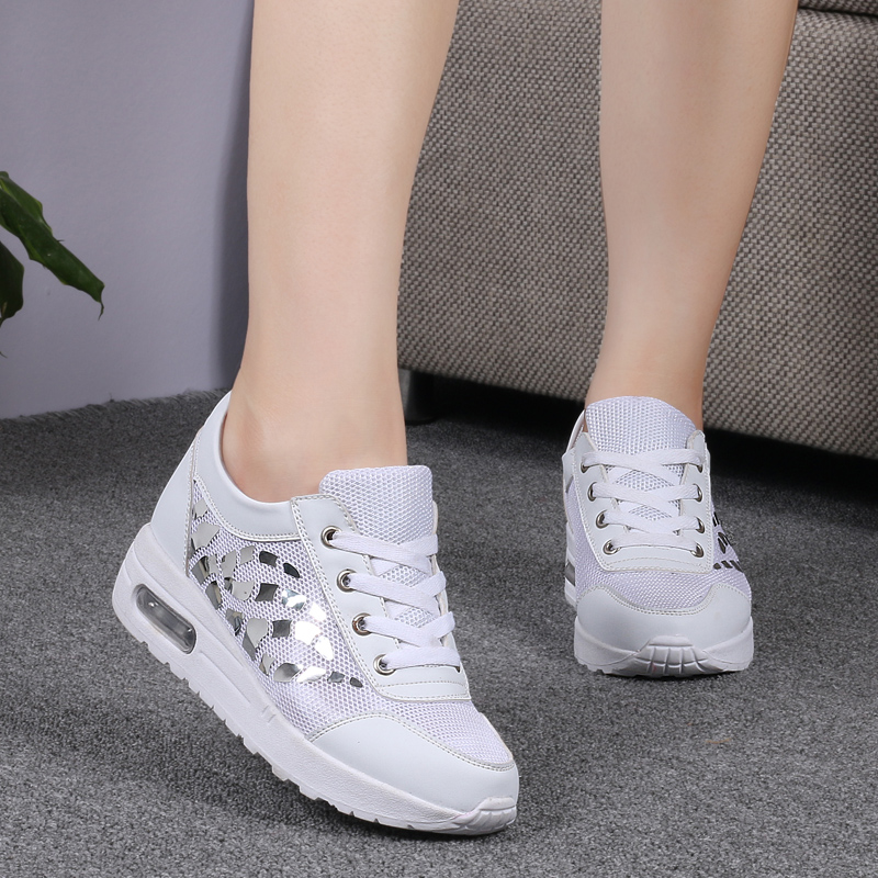 Trainers Women Casual Shoes Summer Style Outdoor Breathable Low Top Shoes Woman Flat Heels Sport Ladies Shoes Size 35-40 ZD71 (18)