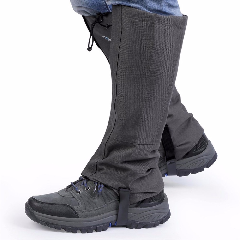 New 1 Pair/Set Waterproof Outdoor Hiking Walking Climbing Hunting Trekking Snow Legging Gaiters Winter Leg Protect Equipment