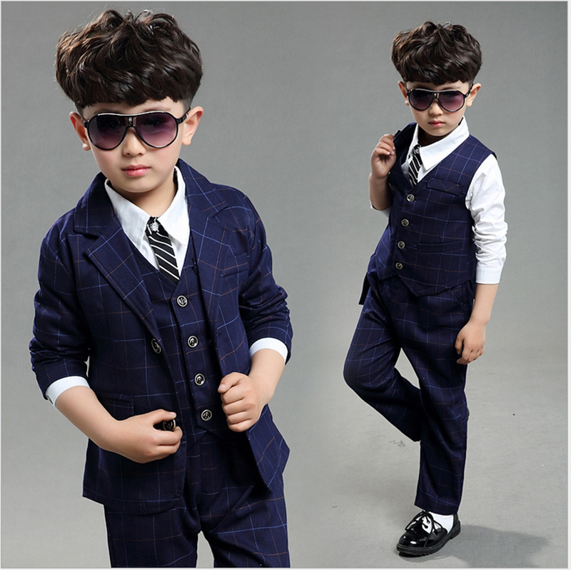 Boys three piece suit for boys 4 12 year boys brand suits ...