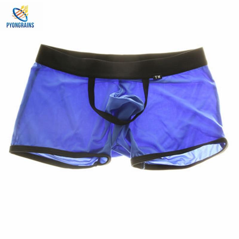 Men's Boxer Men Four Corner Underwear 2017 Underwear Men Nylon Mens Bodysuit Underwear Sous Vetement Homme Sexy Brave Person