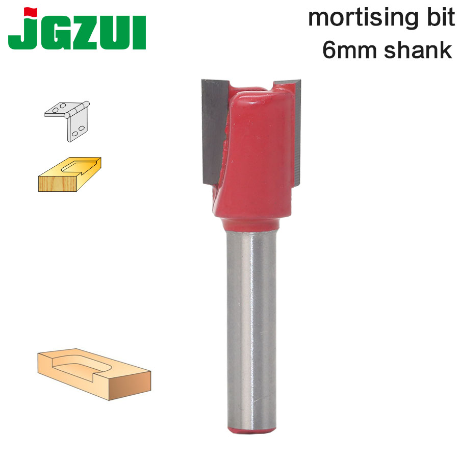 1pcs 6mm Shank Wood Router Bit  High Quality Straight/Dado Router Bit Diameter Wood Cuttin