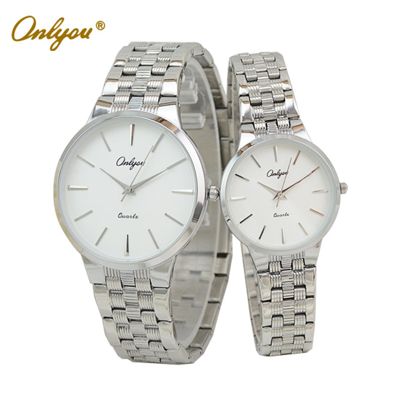 Onlyou Luxury Brand Fashion Watches font b Men b font Women Wristwatches Business Ladies Bracelet Quartz