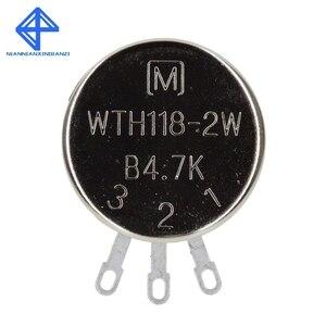 WTH118 DIY Kit Запчасти 2W 1A потенциометр 1K 2,2 K 4,7 K 10K 22K 47K 100K 470K 1M