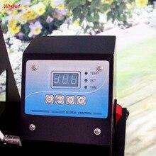 110 v/220 V taza/placa/de la camiseta/cap máquina de la prensa digital de calor caja de control de tiempo y temperatura controlador de calor máquina de la prensa
