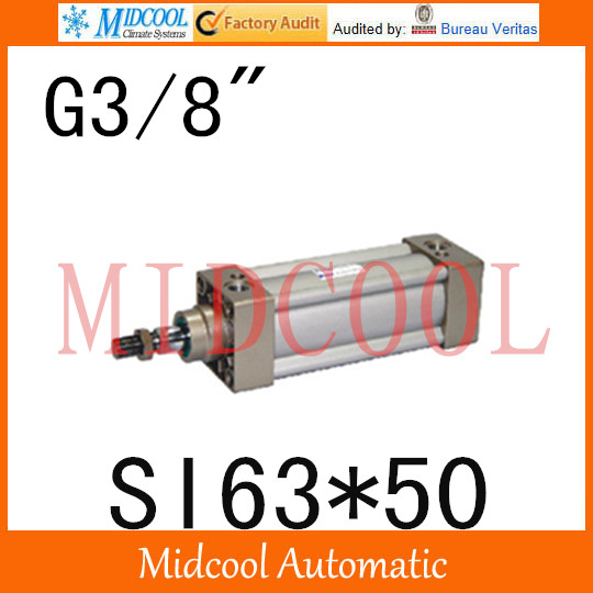 SI series ISO6431Standard cylinder SI63*50 port 3/8 bore 63mm Adjustable cylinder si series iso6431standard cylinder si160 200 port 3 4 bore 160mm adjustable cylinder