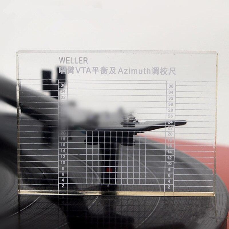 Unterhaltungselektronik Gutherzig Professionelle Lp Vinyl Messung Arm Vta Balance Und Azimut Vta Einstellung Herrscher Plattenspieler Zubehör Freies Verschiffen