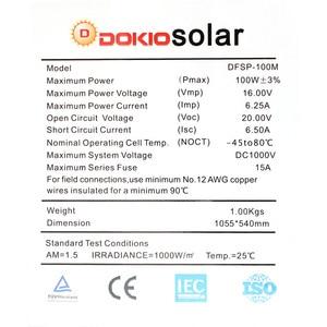 Image 5 - Anaka 100W 12V Linh Hoạt Monocrystalline Silicon Tấm Pin Năng Lượng Mặt Trời Tế Bào Năng Lượng Mặt Trời Sạc Cho Gia Đình/RV/Ngoài Trời Bảng Điều Khiển năng Lượng Mặt Trời Trung Quốc 200W