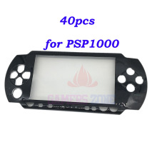 40PCS Repair Black Front Faceplate Case Cover Shell Part for Sony PSP 1000 1001 PSP1000 Fat Housing Case(China)