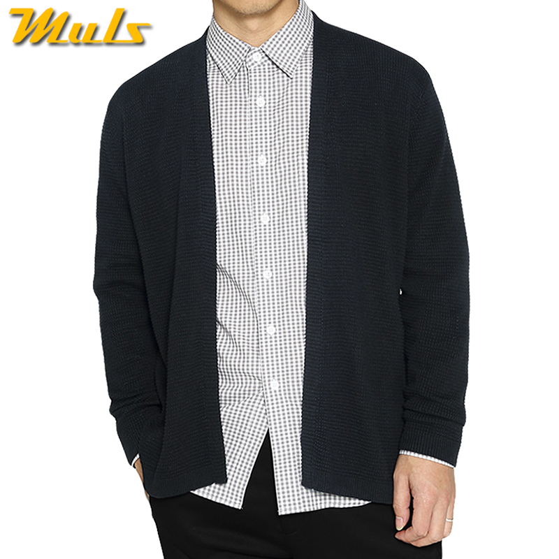 Autumn Winter Wool Coat Men Fashion Boutique Design Men Turn down Collar Long Style Windbreaker Single