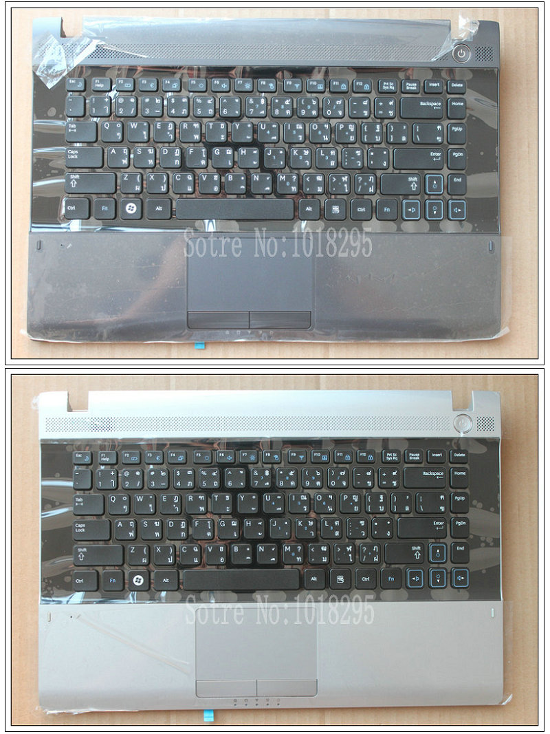 Notebook samsung drivers rv415 - New For Samsung Rv411 Rv415 Rv420 Keyboard Thailand Th With Palmrest Touchpad Teclado Parts Replacement