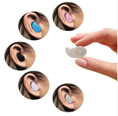 ミニs530 bluetooth v4.0ヘッドフォンイヤホンワイヤレスhandfreeのスポーツヘッドセットのためのiphone 6 7 plus携帯電話でマイクdhl船  グループ上の 家電製品 からの Bluetooth イヤホン & ヘッドホン の中 1