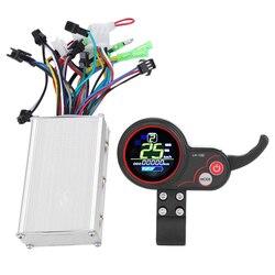 36V elektryczny kontroler rowerowy 250/350W skuter wyświetlacz Lcd sterowanie z przełącznikiem zmiany biegów