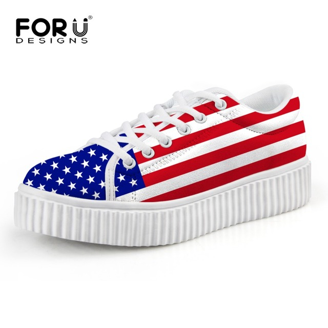 4ebfe0161f1 FORUDESIGNS-3D-USA-UK-Flags-Print-Fashion-Low-Style-Women-Flats-Shoes -Woman-Casual-Height-Increasing.jpg_640x640.jpg