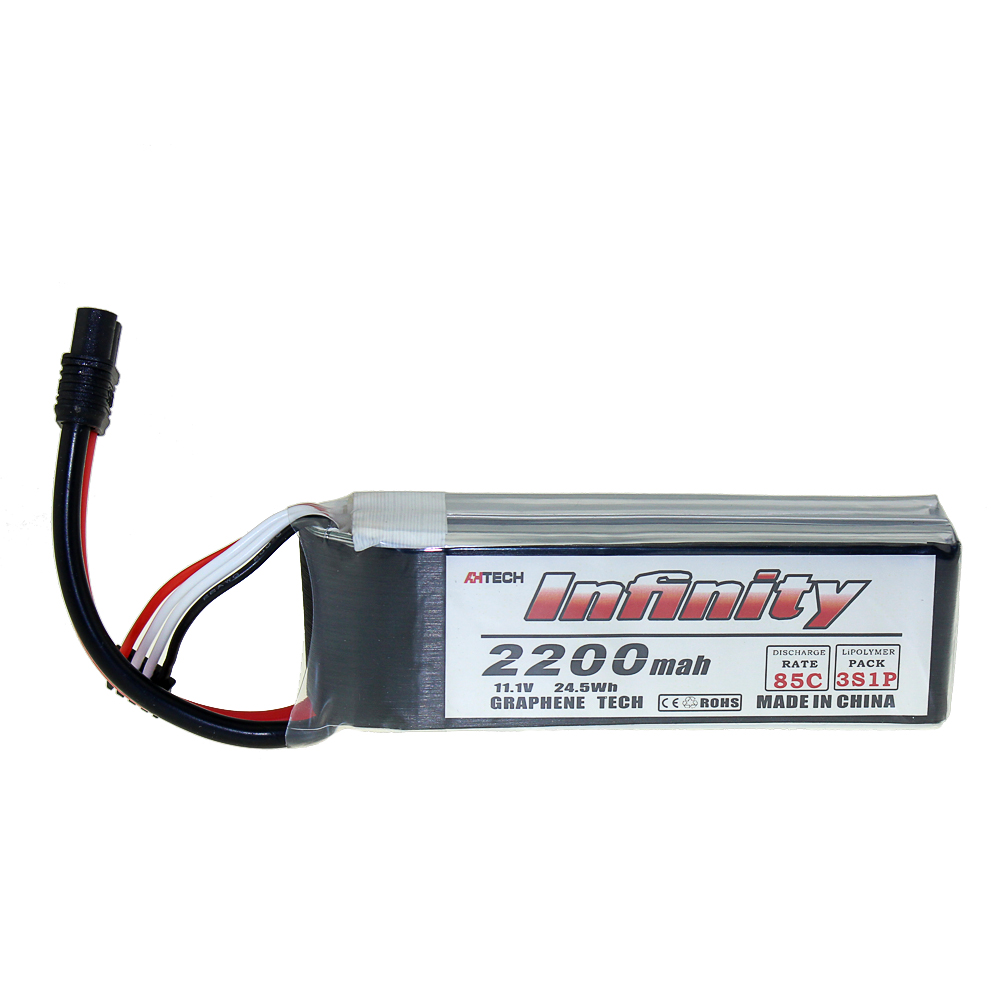 Infinity 2200mAh 3S 45C 85C 11.1V LiPo Rechargeable Battery SY60 XT60 Plugs For RC FPV Multicopter Model Drone