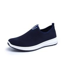 VESONAL 2019 Slip-On Lightweight Mesh Men Shoes Casual Breathable Comfortable Walking Male Sneakers Tenis Feminino Footwear A22