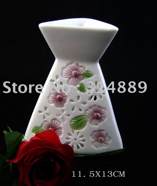 ceramic incence oil burner by handmake ,welcome small qty and mixed different styles in one carton