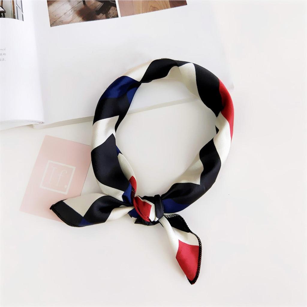 Scarf   Fashion Women Square Head   Scarf     Wraps     Scarves   Printed Kerchief Neck   Scarf   foulard femme bufanda mujer Modis