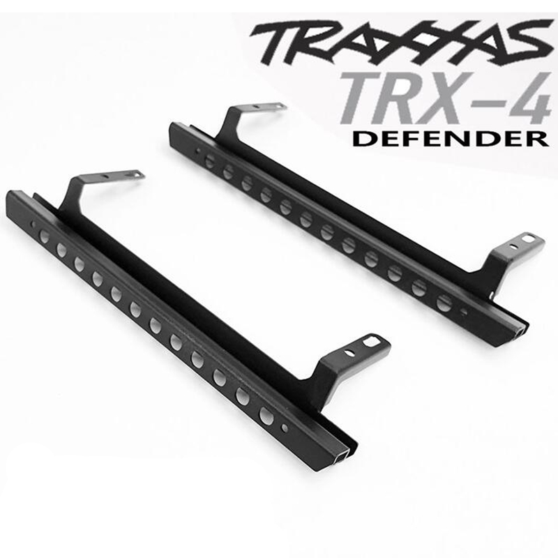 Metal decorative pedal assembly for 1/10 rc crawler traxxas trx-4 defender D110 remote control model carMetal decorative pedal assembly for 1/10 rc crawler traxxas trx-4 defender D110 remote control model car