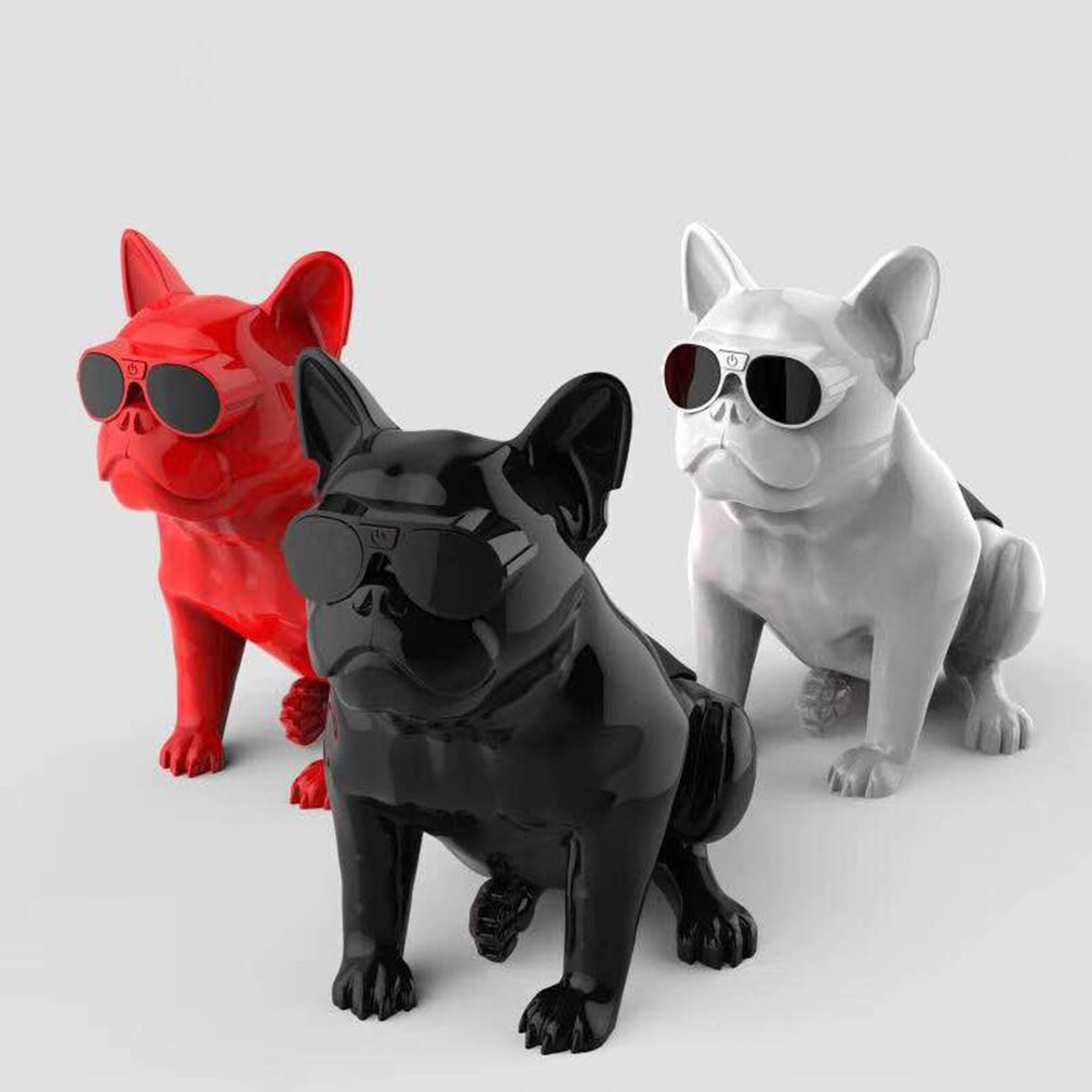Bulldog Wireless Bluetooth Speaker Portable HIFI Deep Bass Bull Dog Speaker 2018