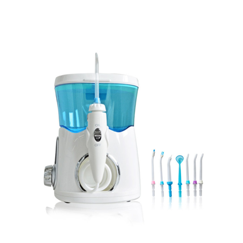 Family Electric Oral Irrigator 600ml Capacity Water jet water irrigation Dental Flosser fresher and healthier mouth 100-240V цена