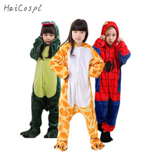 Animals Pajama Set Kids Onesie Flannel Warm Anime font b Cosplay b font Costume Lovely Children